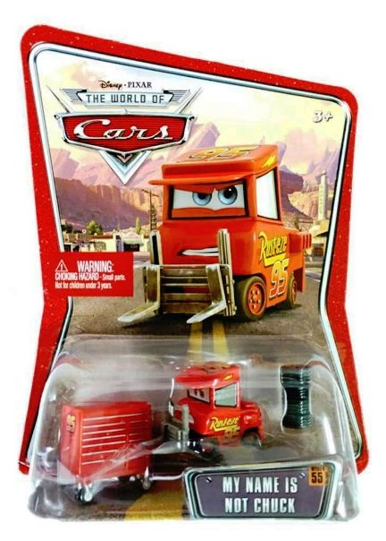 My Name Is Not Chuck 55 The World Of Cars Pixar Movie Cars