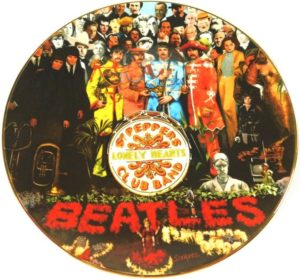 Beatles Sgt Pepper Collector Plate 25th Anniversary-0 - Copy