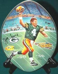 Brett Favre Collector Plate 1997