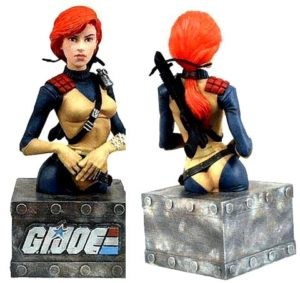 G.I. Joe Scarlett (Mini-Bust)