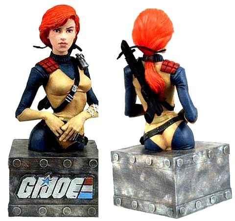 G.I. Joe Scarlett (Mini-Bust)