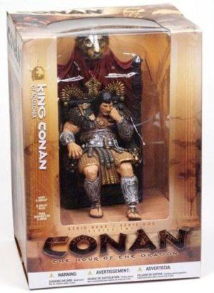 "King Conan Of Aqoilonia (""Hour Of The Dragon"") McFarlane Collection Edition Series-2 ""Rare-Vintage"" (2005)"
