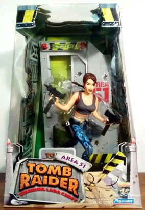 Lara Croft Area 51 Tomb Raider 7' Action Figure Playmates-1 - Copy