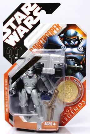 "Star Wars (30th Anniversary ""Saga Legends w/Exclusive Collector Coin Edition"") Hasbro Vintage Collection ""Rare-Vintage"" (2007)"