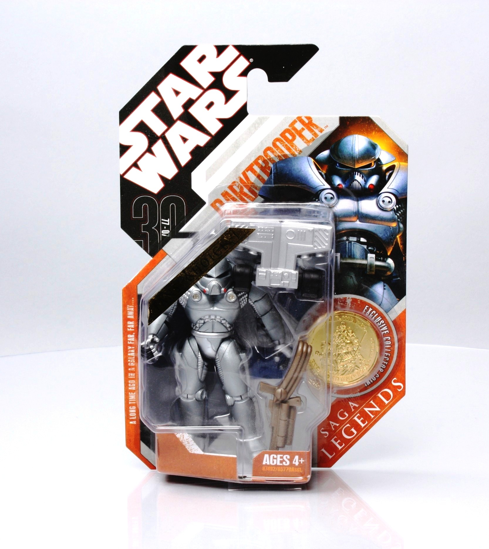 Star Wars Saga Legends Fan/'s Choice Darktrooper Figure with Gold Coin