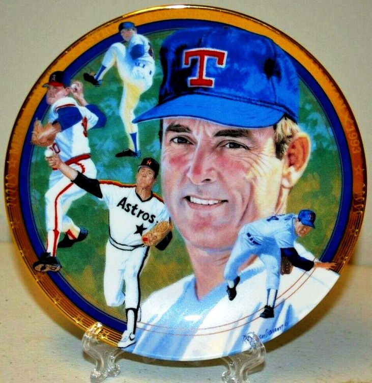 Nolan Ryan Collector Plate The Strikeout Express-0 - Copy