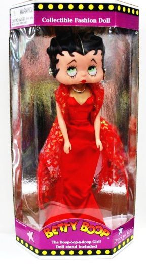 "BETTY BOOP (Exclusive Fashion Dolls) ""Rare-Vintage"" (1998)"