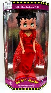 Betty Boop Doll (Red Dress)-logo
