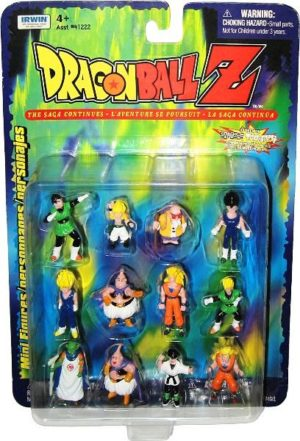 Dragonball Z Mini Figures Set-4-00