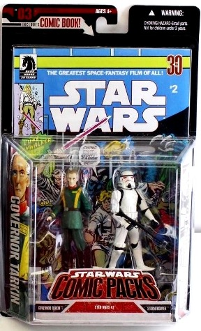 Governor Tarkin & Stormtrooper (All White Armor) Variant - Copy