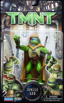 Jungle Leo Tmnt Movie Edition Teenage Mutant Ninja Turtles Series 1 Rare Vintage 2008 Now And Then Collectibles