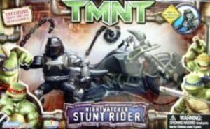 Nightwatcher Stunt Rider Tmnt Movie Edition Teenage Mutant