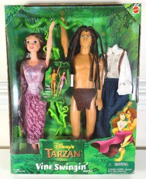 """Disney (""""Tarzan"""" The Animated Movie Series) """"Rare-Vintage"""" (1997-1999)"""