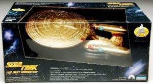 "Star Trek USS Enterprise (""Gold Starship Series"") Exclusive Toys R Us Limited Edition ""Rare-Vintage"" (1993)"