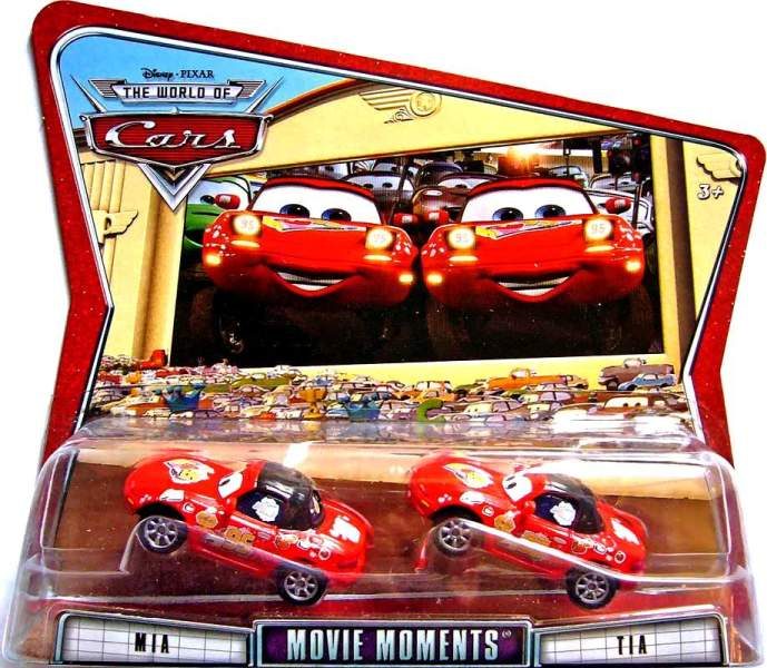 Mia N Tia 2 Pack Movie Moments The World Of Cars Series 3