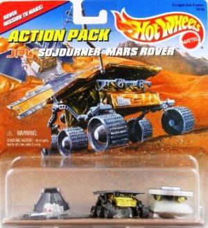 hotwheels jpl sojourner mars rover (no-Date)