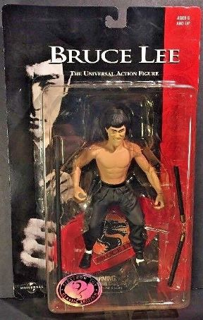 Bruce Lee Bare Chested Famous Martial Artist Classic Edition)-01a - Copy