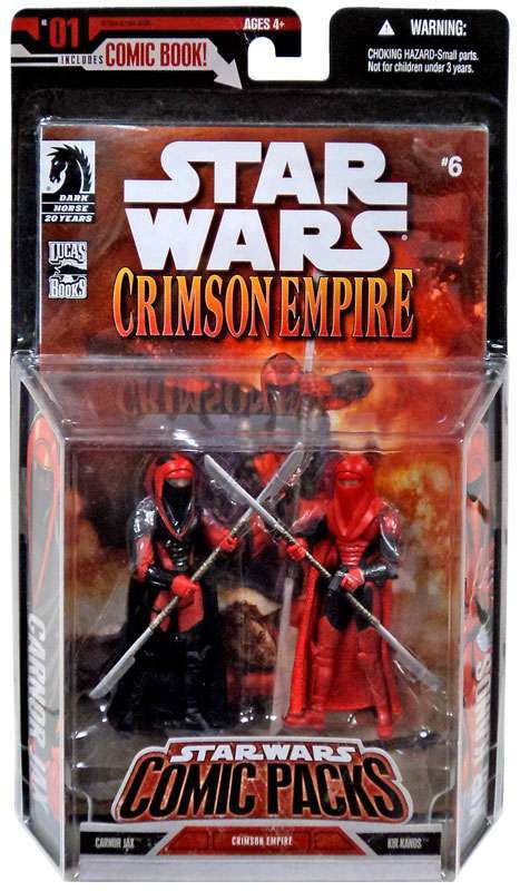 Star Wars Kir Kanos Crimson Empire Royal Guard from comic pack 2007