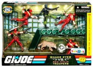Snake Eyes vs Red Ninjas Troopers (TRU-Exclusive)