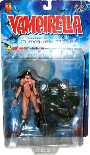 """Vampirella (Hand-Painted Limited Edition Rare Sculptures And Statues Collector'sSeries) """"Rare-Vintage"""" (1999-2000)"""