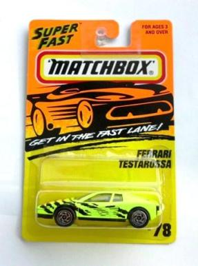 "Matchbox 75 (Mattel-Tyco Fast Lane Collectible Diecast ""ERROR VEHICLES"") 1:64 Scale Series ""Rare-Vintage"" (1995-1996)"