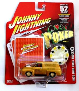 """Johnny Lightning Authentic Replicas """"Vintage Poker Chip Series And Exclusive Playing Cards"""" 1/64 Scale Die-Cast Vehicles Collection) """"Rare-Vintage"""" (2004-2005)"""