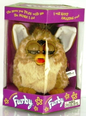 Furby (Brown & Tan) 1999