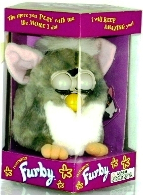 Furby (Gray & White) 1999