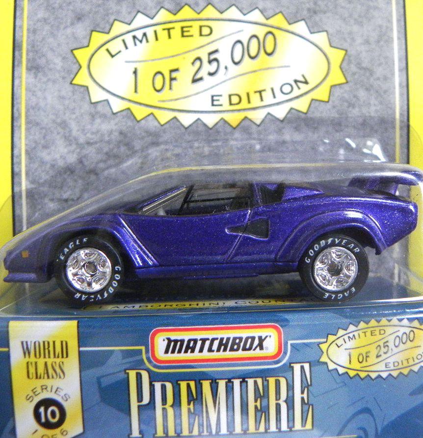 Lamborghini Countach - Limited Edition Classic Car Print