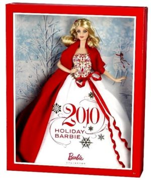 2010 Holiday Barbie-0