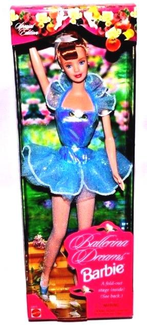 Ballerina Dreams Barbie (Redhead)-1a