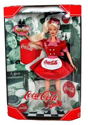 Coca-Cola Barbie Doll Waitress-1 - Copy