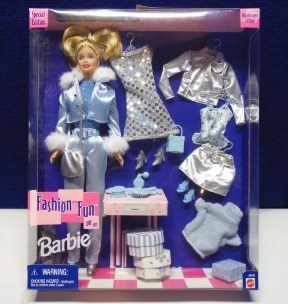 Fashion Fun Gift Set Barbie Mix Match Fashions Toys R Us Exclusive Special Edition Collection Rare Vintage 1999 Now And Then Collectibles