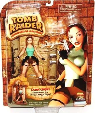 Lara Croft Savage Bengal Tiger