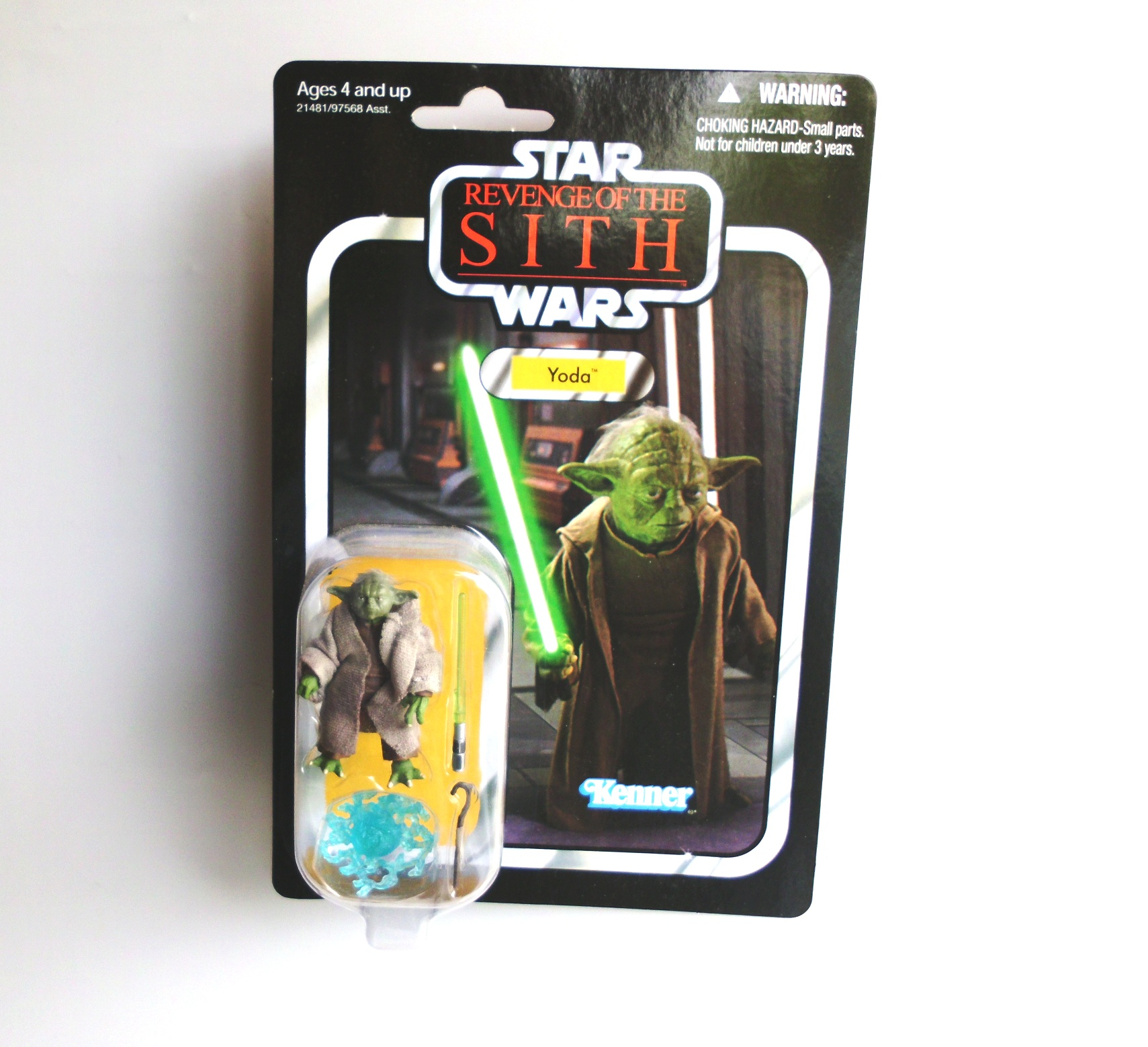 Yoda Classic Revenge Of The Sith Film Star Wars The Vintage Collection Revenge Of The Sith Series Vc 20 Rare Vintage 2010 Now And Then Collectibles