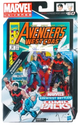 "Marvel Universe (""Collectible 2-Pack Comic & Action Figures Series"") ""Rare-Vintage"" (2011)"