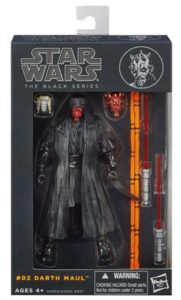 #02 Darth Maul Action Figure Collectible The Black Series Star Wars Limited K