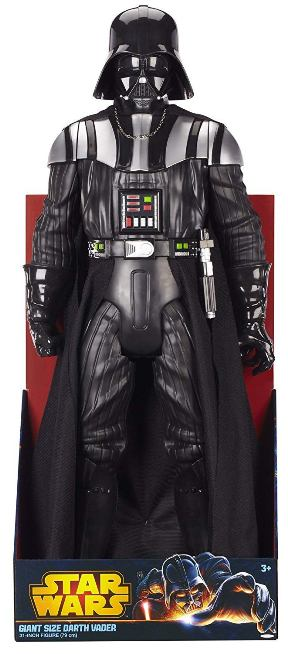 "Star Wars (Giant Size) Darth Vader 31-Inch (The Dark Lord of the Sith) Star Wars Movie Figure ""Rare-Vintage"" (2013)"