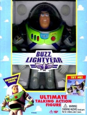 12 Buzz Lightyear Ultimate Talking Action Figure-3
