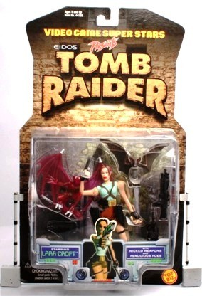 Lara Croft (Wicked Weapons-Ferocious Foes) UPC-035112441250 (1997) - Copy