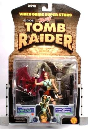 Lara Croft (Wicked Weapons-Ferocious Foes) UPC-035112441250 (1997) - Copy