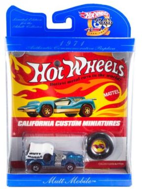 Hot Wheels Limited Edition 30th Anniversary Collectors Favorites 1971 Mutt Mobile