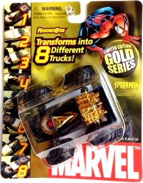 "Marvel (""Regener8'rs Limited Edition Gold Diecast Vehicle Series"") ""Rare-Vintage"" (2004)"