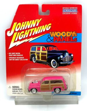 """Johnny Lightning Authentic Replicas """"Vintage Woodys & PanelsSeries"""" 1:64 Scale Die-Cast Vehicles (Limited Edition & Real Wheels Series Collection) """"Rare-Vintage"""" (2000-2004)"""