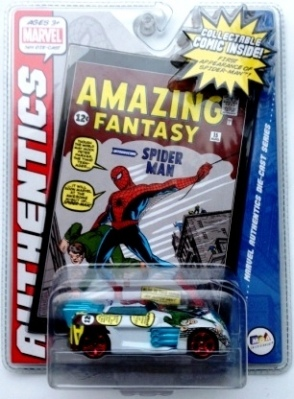 "Marvel (""Die-Cast & Mini Comic Authentics 1/64 Scale Collection Series"") ""Rare-Vintage"" (2007)"