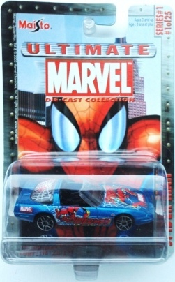 "Marvel (""Die-Cast Ultimate 1/64 Scale Collection Series-1"") ""Rare-Vintage"" (2002)"