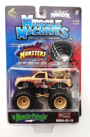 "MUSCLE MACHINES (""Monster Truck Patrol Series"") ""Rare-Vintage"" (2003)"