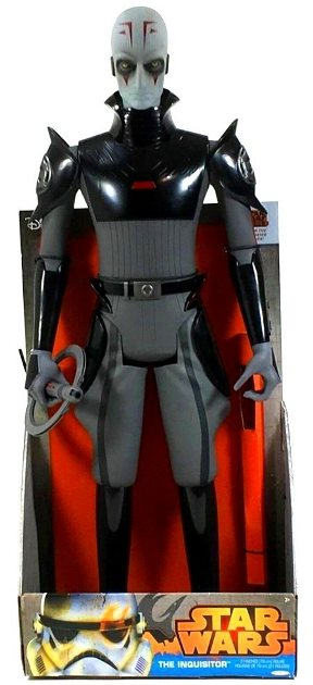 "Star Wars (Giant Size) The Inquisitor 31-Inch (The Disney Movie) Star Wars Rebel ""Rare-Vintage"" (2014)"