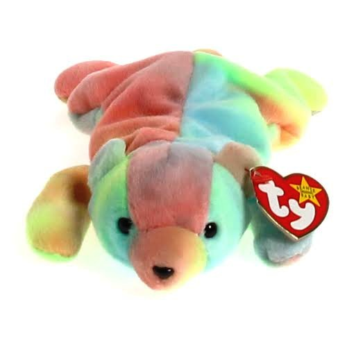 Details about  /Ty Beanie Babies Sammy The Tie-dye Bear Mint Condition Rare Retired