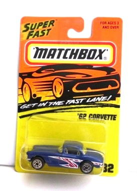 "Matchbox 75 (Mattel-Tyco Fast Lane Collectible Diecast 1:64 Scale Series ""Rare-Vintage"" (1995-1996)"